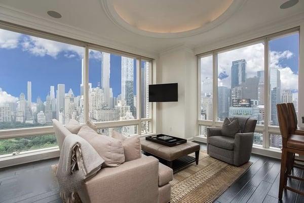 Prezzi degli immobili a Manhattan per 1 Central Park West