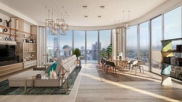 Flatiron Penthouse Miami condomini in vendita Brickell